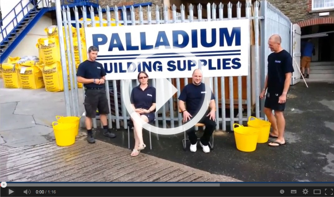 Nicky Wilson and Sylvain Bordas Ice Bucket Challenge Palladium Kingsbridge