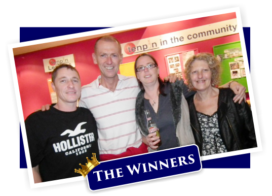 Palladium Kingsbridge Bowling Night Out - The Winners